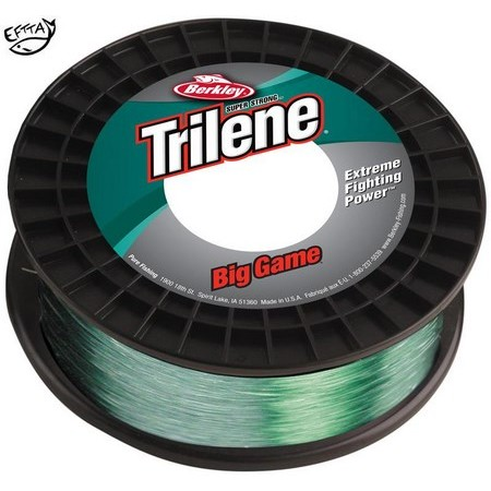 NYLON BERKLEY TRILENE BIG GAME ECONO SPOOL - VERT - 600M