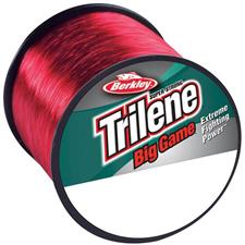 NYLON BERKLEY TRILENE BIG GAME - ROUGE