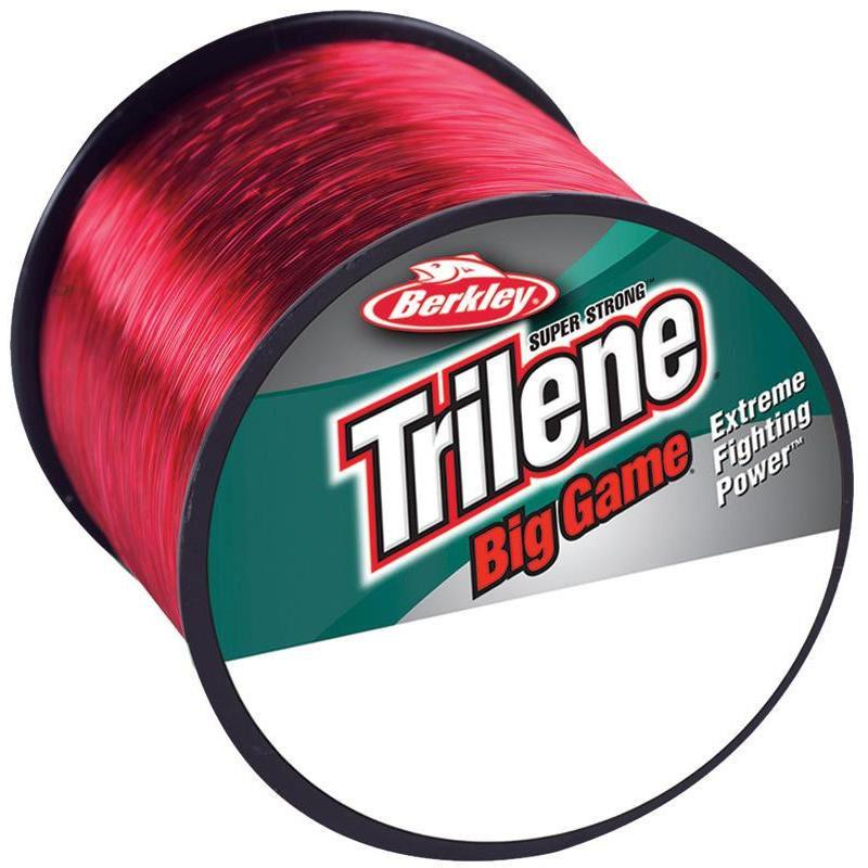 NYLON BERKLEY TRILENE BIG GAME - ROUGE - 600m - 38/100