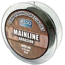 NYLON CARPE ASSO MAINLINE ABRASION 1000M - NOIR/VERT