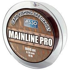 Lines Asso MAINLINE PRO 1000M MARRON 1000M 40/100
