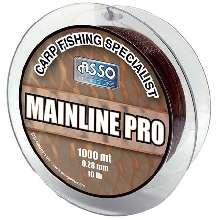 NYLON CARPE ASSO MAINLINE PRO 1000M - MARRON