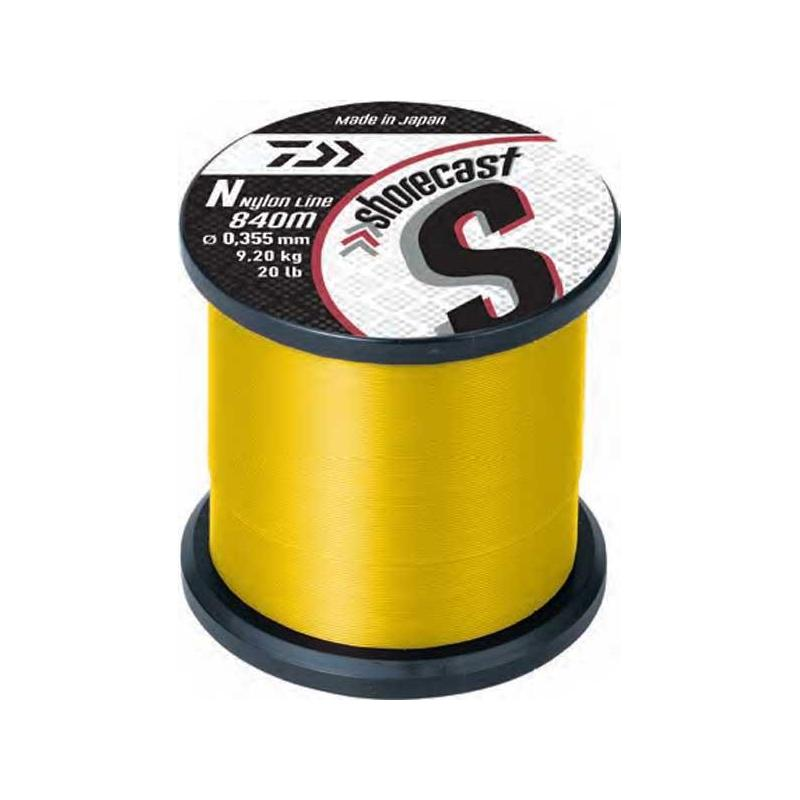 NYLON DAIWA SHORECAST JAUNE - 40/100