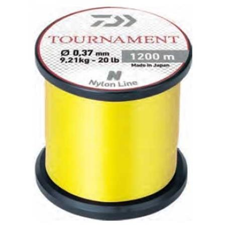 NYLON DAIWA TOURNAMENT JAUNE FLUO - 1200M