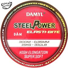 Lines D.A.M DAMYL STEELPOWER ELASTI BITE MONO 300M 25/100