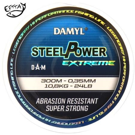 NYLON DAM DAMYL STEELPOWER X-TREME MONOFILAMENT