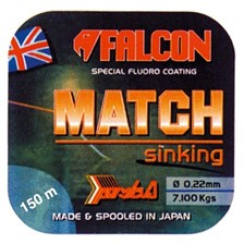 Lines Falcon MATCH SINKING 150M 150M 16/100