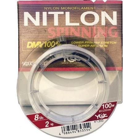 NYLON FLUOROCARBON YGK NITLON SPINNING N400 - 100M
