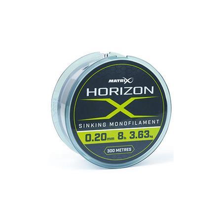 NYLON FOX MATRIX HORIZON X SINKING MONO - 300M
