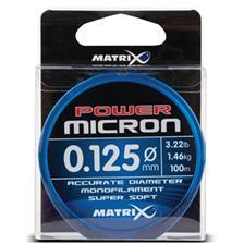Lines Fox Matrix POWER MICRON HOOKLENGTH & RIG LINE 100M 16.5/100