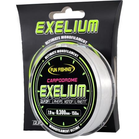 NYLON FUN FISHING MONOFILAMENT EXELIUM CARPODROME - 150M