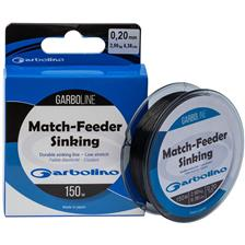Lines Garbolino GARBOLINE MATCH FEEDER SINKING 150M 14/100