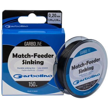 NYLON GARBOLINO GARBOLINE MATCH-FEEDER SINKING - 150M