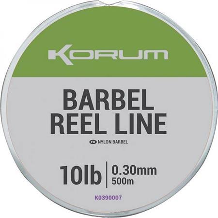 NYLON KORUM BARBEL REEL LINE - 500M