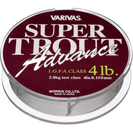 NYLON LIJN FOREL VARIVAS SUPER TROUT ADVANCE - 150M