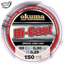NYLON LIJN OKUMA HI CAST - 150m - 12/100