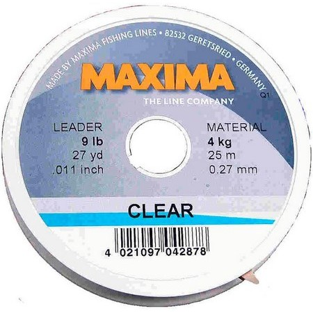 NYLON MAXIMA CLEAR - TRANSPARENT