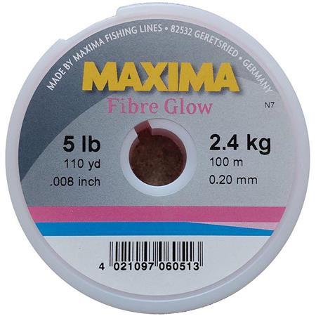 NYLON MAXIMA FIBRE GLOW ROSA