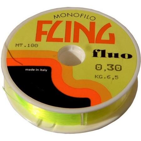 NYLON MOUCHE MAXIMA FLING - JAUNE FLUO