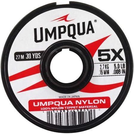 NYLON MOUCHE UMPQUA TIPPET - 27M