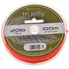 Leaders Wychwood BACKING FLY LINE ORANGE 200M 30LBS