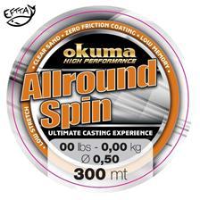 Lines Okuma ALLROUND SPIN 300M 25/100