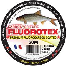 Lignes Parallelium FLUOROTEX GARDON 50M 8/100