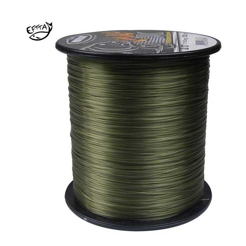 NYLON POWERLINE CARP X KAKI - 1200m - 31/100