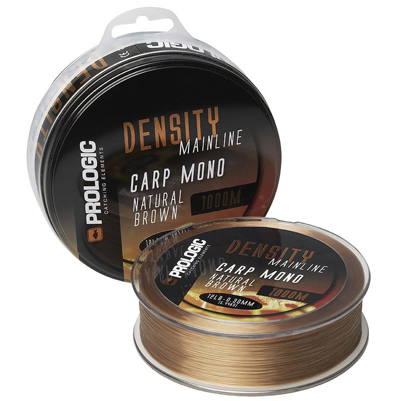 NYLON PROLOGIC MONOFILAMENT DENSITY PL MARRON - 1000M - 30/100