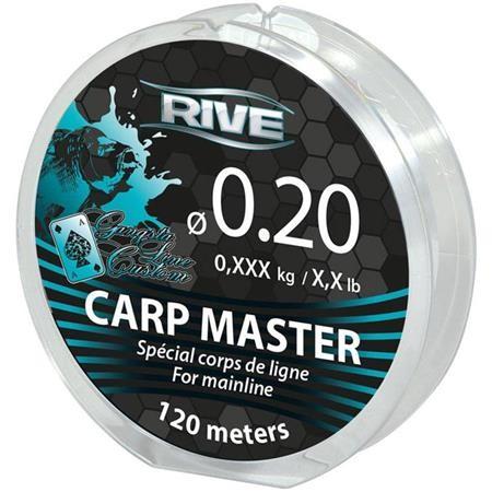 NYLON RIVE CARP MASTER TRANSPARENT - 120M