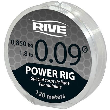 NYLON RIVE POWER RIG TRANSPARENT - 120M