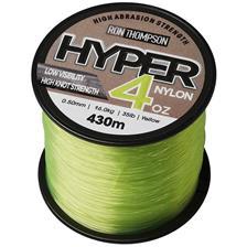Lines Ron Thompson HYPER 4OZ NYLON SPOOLS JAUNE 50/100