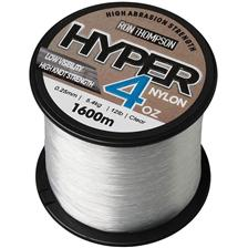HYPER 4OZ NYLON SPOOLS TRANSPARENT 20/100