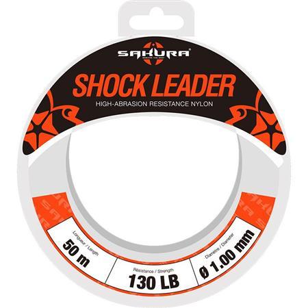 NYLON SAKURA SHOCK LEADER - 50M