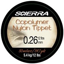 Leaders Scierra COPOLYMER TIPET MATERIAL 50M 26/100 12 LBS