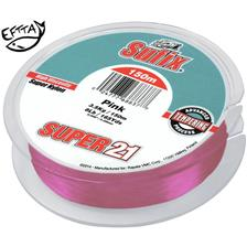 NYLON/SEIDE SUFIX SUPER 21 ROSE - 150M