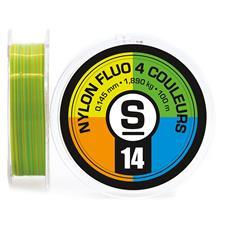 Lines Pierre Sempé NYLON FLUO 4 COULEURS 100M 12/100