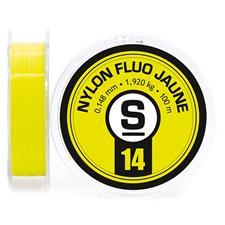 Lines Pierre Sempé NYLON FLUO JAUNE 100M 16/100