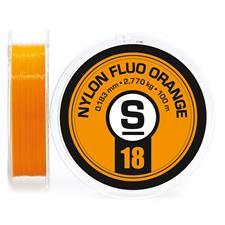 Lines Pierre Sempé NYLON FLUO ORANGE 100M 12/100