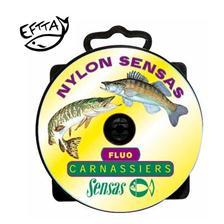 Lines Sensas NYLON CARNASSIER FLUO JAUNE 150M 30/100