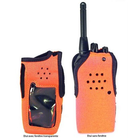 NYLON SHEATH FOR TALKIE WALKIE F25SR & F4029SDR HUNT ICOM TALKIE WALKIE F25SR & F4029SDR HUNT