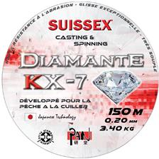 Lignes Suissex PAN DIAMANTE KX 7 SPECIAL CUILLER 150M 20/100
