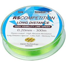 Lines Sunset RS COMPETITION LONG DISTANCE HI VISIBILITY LIME GREEN 300M 18/100