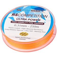 Lines Sunset RS COMPETITION ULTRA POWER HI VISIBILITY FIRE ORANGE 250M 31/100