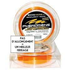 Lines Technipêche PHENOMENE ORANGE 200M 14/100