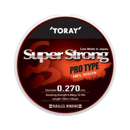 NYLON TORAY SUPER STRONG - 150M TRANSPARENT