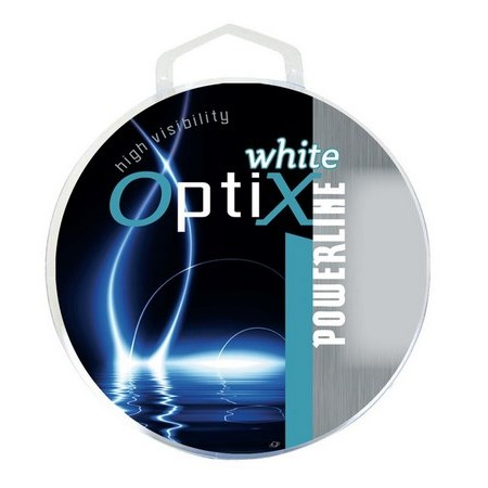 NYLON TRUITE POWERLINE OPTIX - BLANC