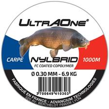 NYLON ULTRAONE NYLBRID CARPE NOIR - 1000M