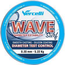 Lignes Vercelli WAVE SURF ROUGE 1000M 20/100