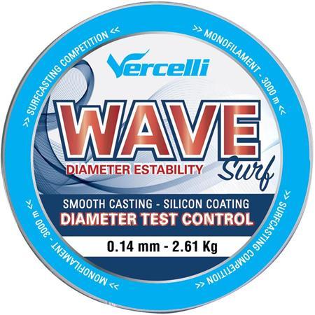 NYLON VERCELLI WAVE SURF - ROUGE - 3000M